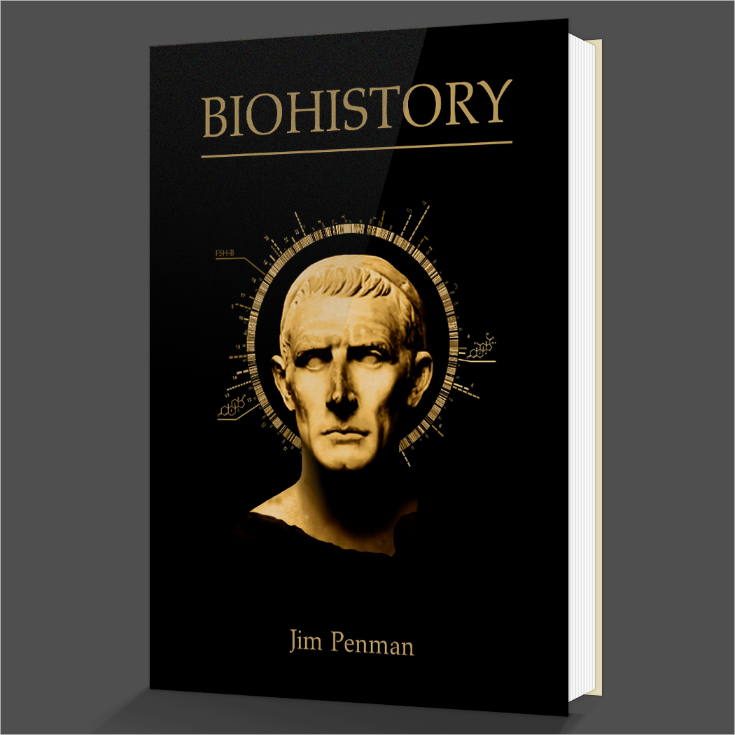 Biography Book Covers: Academic Version Of Biohistory (Hardcover)