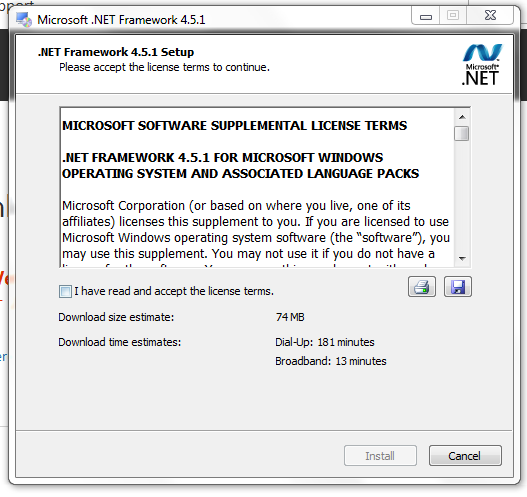 06 DotNet4-5-1 Licence confirmation