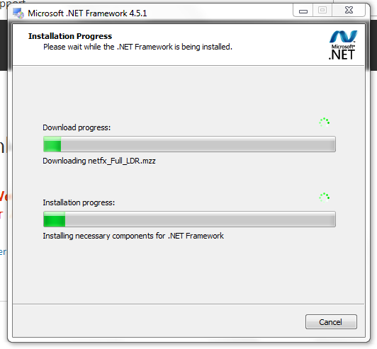 07 DotNet4-5-1 Download Progress